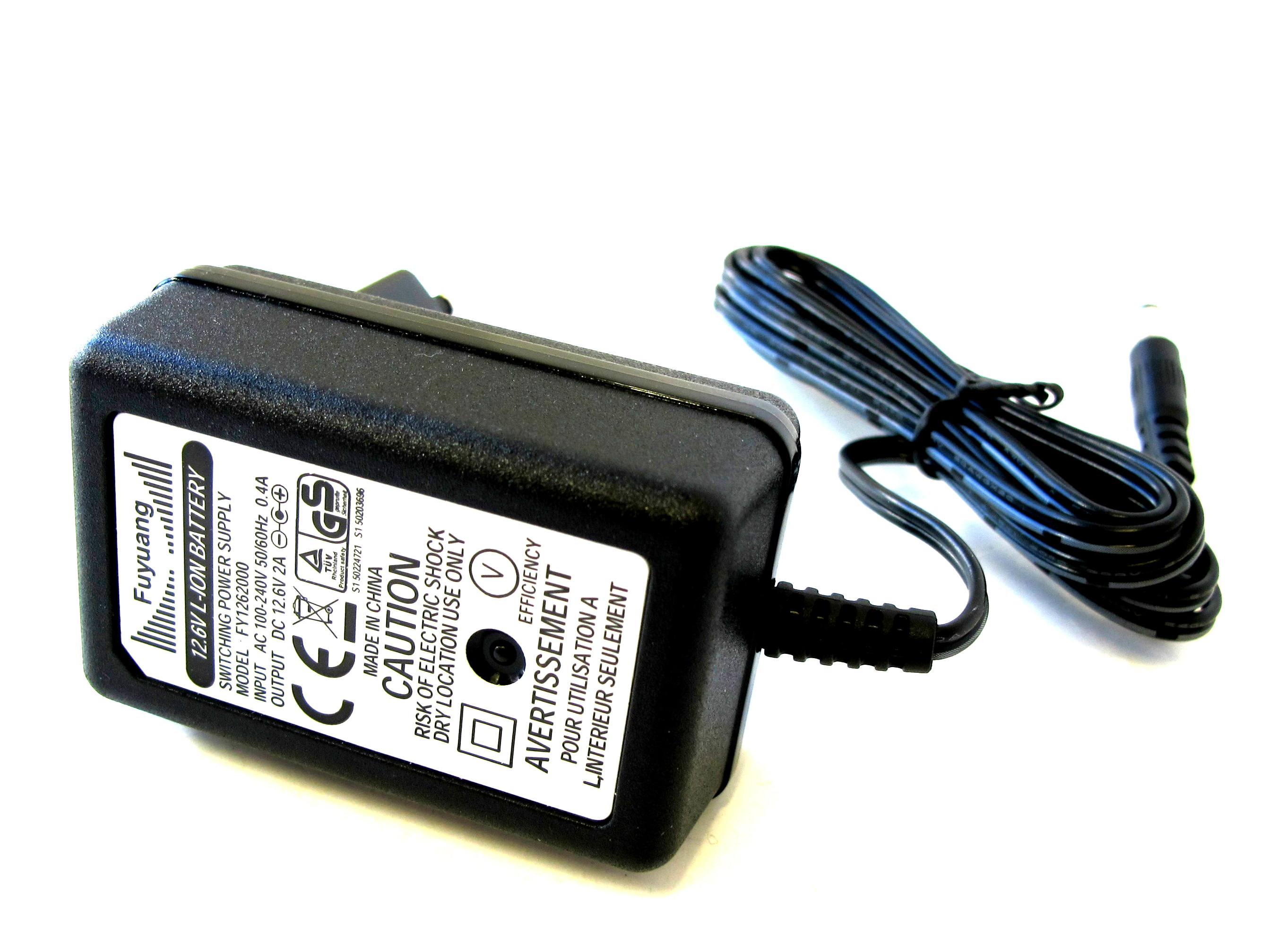 Enerpower FY0902000 2S (8.4V) Li-Ion charger 1.8A DC Plug
